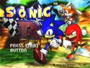 Sonic R - Title Screen