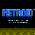 Metroid - Title Screen