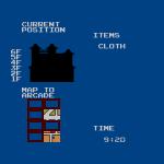 Alex Kidd: High Tech World -- Status Screen