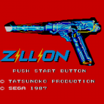 Zillion Title Screen