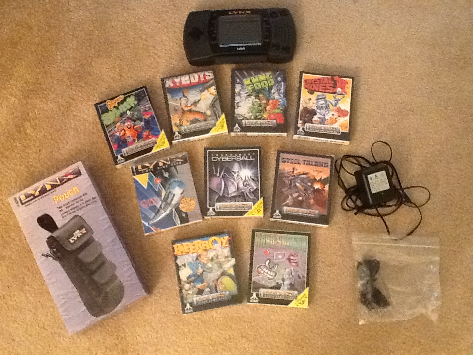 Latest Haul: Instant Atari Lynx Collection